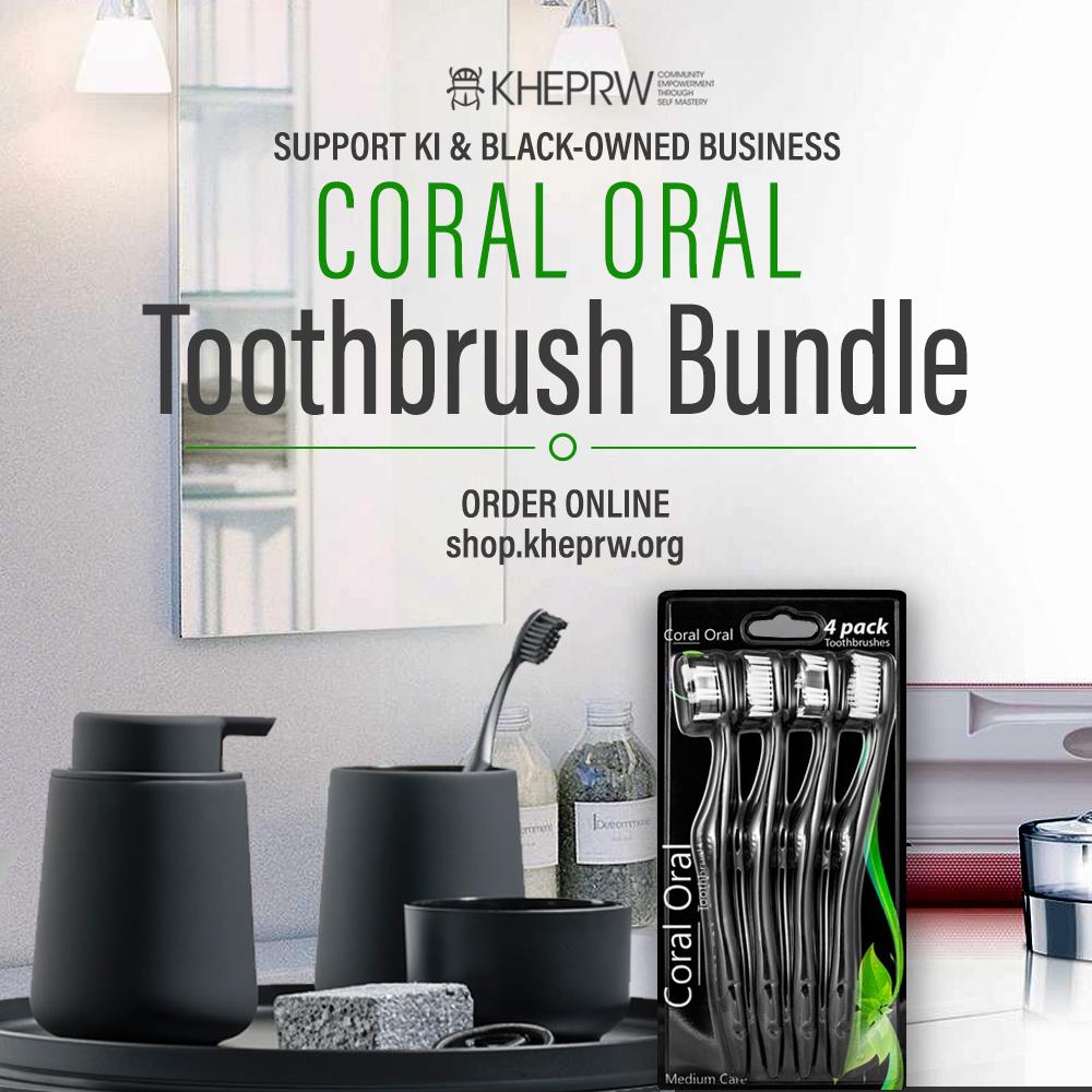 Coral Oral Toothbrush Bundle