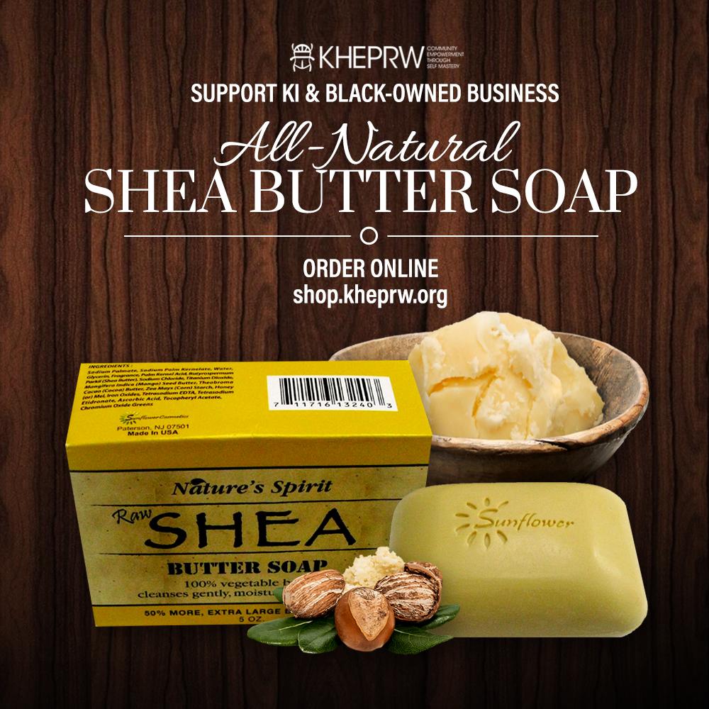Shea Butter & African Black Soap